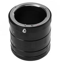 Macro tubo de extensão anel lente da câmera adaptador para nikon d7200 d7000 d5500 d5300 d5200 d5100 d3400 d3300 d3200 d310 câmera novo
