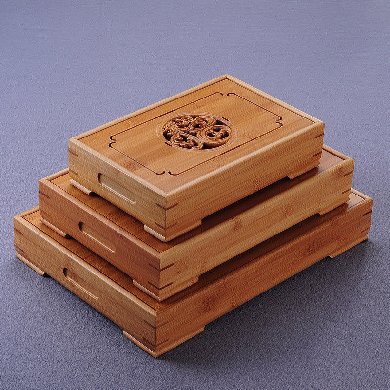 China Dragon & Phoenix Bamboo Gong Fu Tea Ceremony Table 1