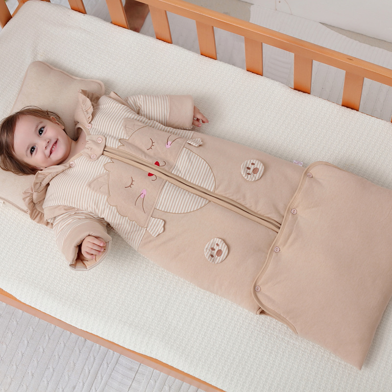 Sleeping Bag Baby Lovely environmental 100 Cotton Sleeping Bag Warm Sleepsack