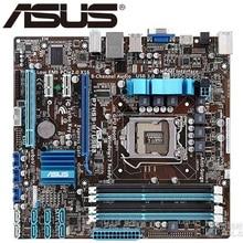 Asus P7H55-M/USB3 Desktop Motherboard H55 Socket LGA 1156 i3 i5 i7 DDR3 16G ATX UEFI BIOS Original Used Mainboard Hot Sale