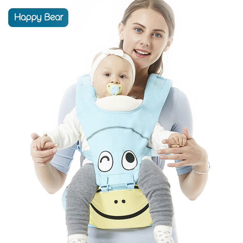 Happybear Fashion Baby Carrier High Capacity Infant Comfortable Sling Backpack Pouch Wrap Baby Kangaroo New For 0-36Months 1606