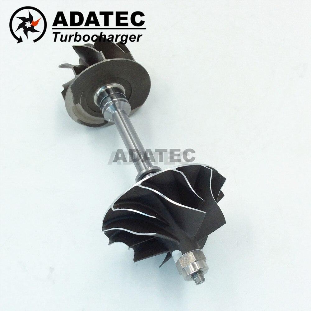 Turbo shaft wheel 53039880145 53039700122 28200 4A470 BV43 turbocharger rotor for Hyundai H 1 CRDI 125