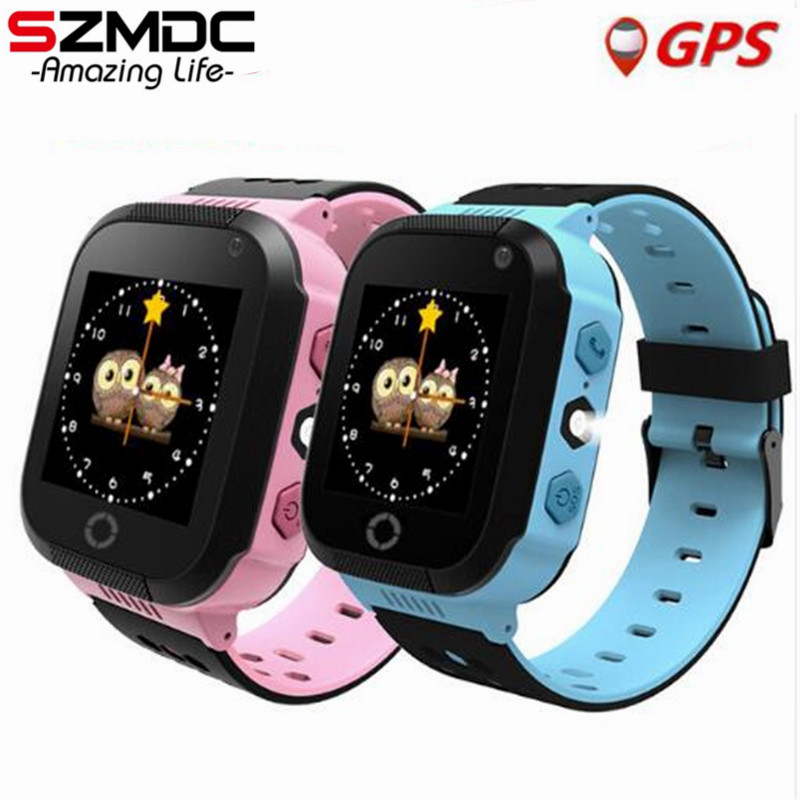 SZMDC Q528 Y21 Touch Screen GPS Child Smart Watch With Camera Lighting Phone Location SOS Call Remote Monitor Pk Q50 Q90 Q100