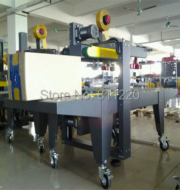 Carton taping sealer Top&Bottom one stop sealing machine side driver,box/case tape package packing equipment,semi-automatic tool цены