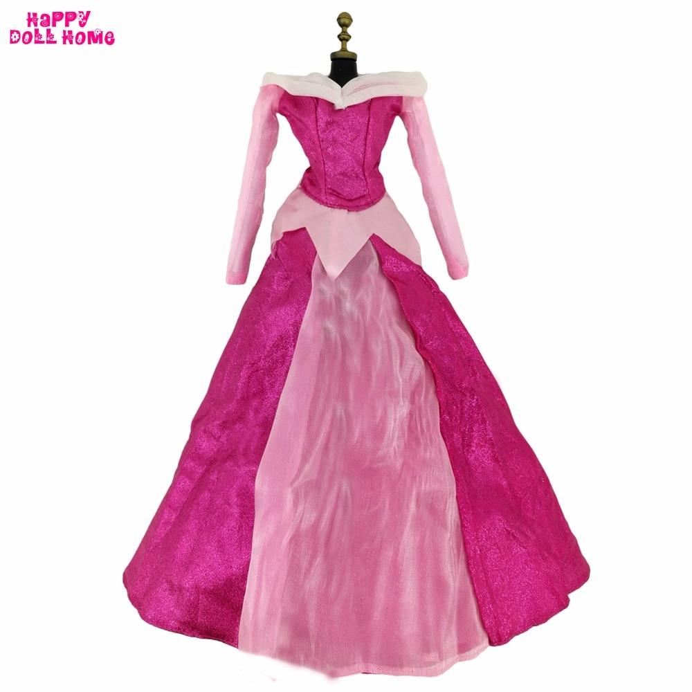 Hadas bola vestido copia Bella Durmiente traje Rosa princesa boda ...