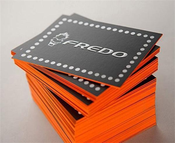 2016 custom emboss business card edge color print business cards 2016 custom emboss business card edge color print business cards 600gsm cardboard matte 200pcslot colourmoves