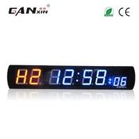 [Ganxin]12v dc led stopwatch interval timer electronic digital crossfit training gym wall clock