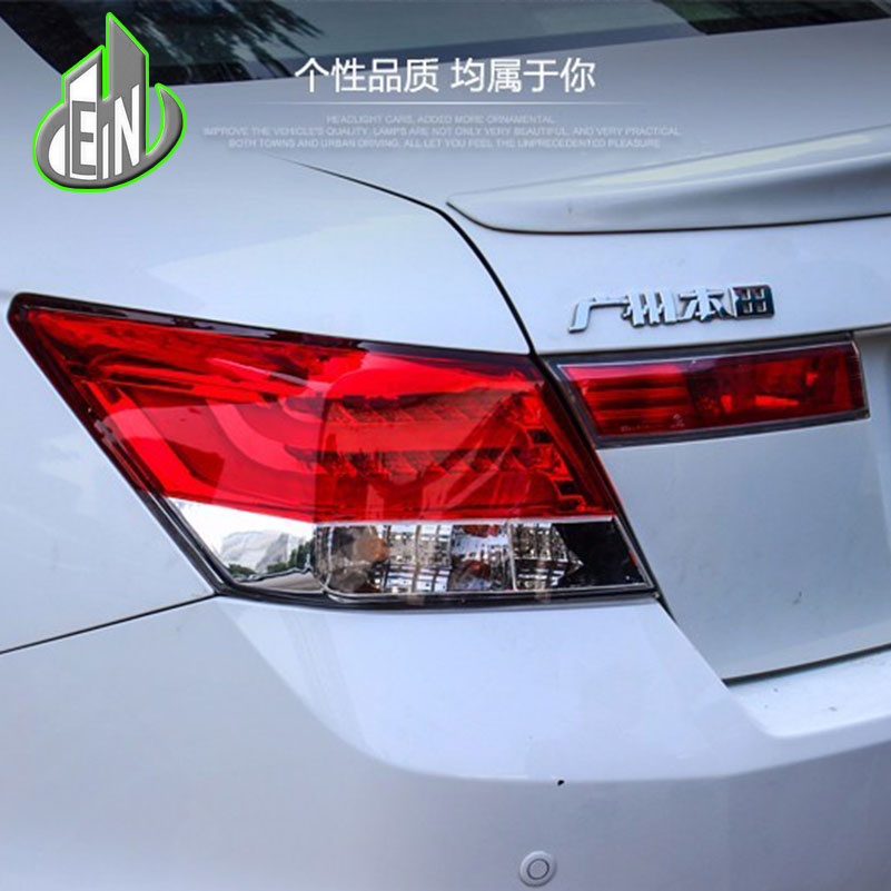 EN Car Styling For HONDA Accord 8 2008-2012 Taillights LED Tail Light LED Rear Lamp DRL+Brake+Reversing+Signal LIGHT Accessories