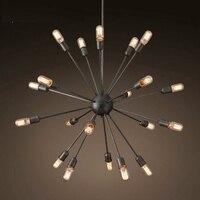 Vintage Pendant Light Artificial Satellite Chandelier Pendant Lamp Retro Industrial Light Luminaria Pendente Lamparas Colgantes