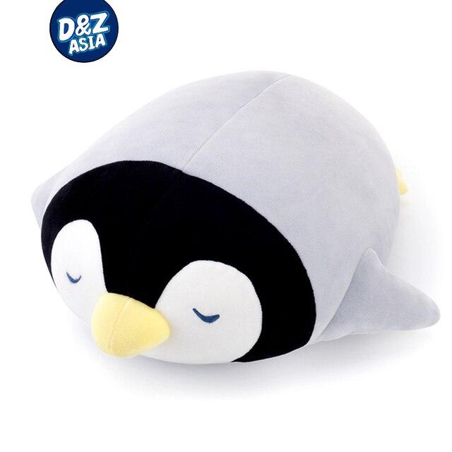 Brinquedos macios animais marinhos deitado travesseiro pinguim tartaruga de pelúcia animais brinquedos de pelúcia travesseiro boneca brinquedos de pelúcia presentes de aniversário meninas