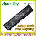 Apexway 6 celdas 4400 mah 11.1 v batería del ordenador portátil 312-0186 n855p u164p para dell studio 17 1745 1747 1749