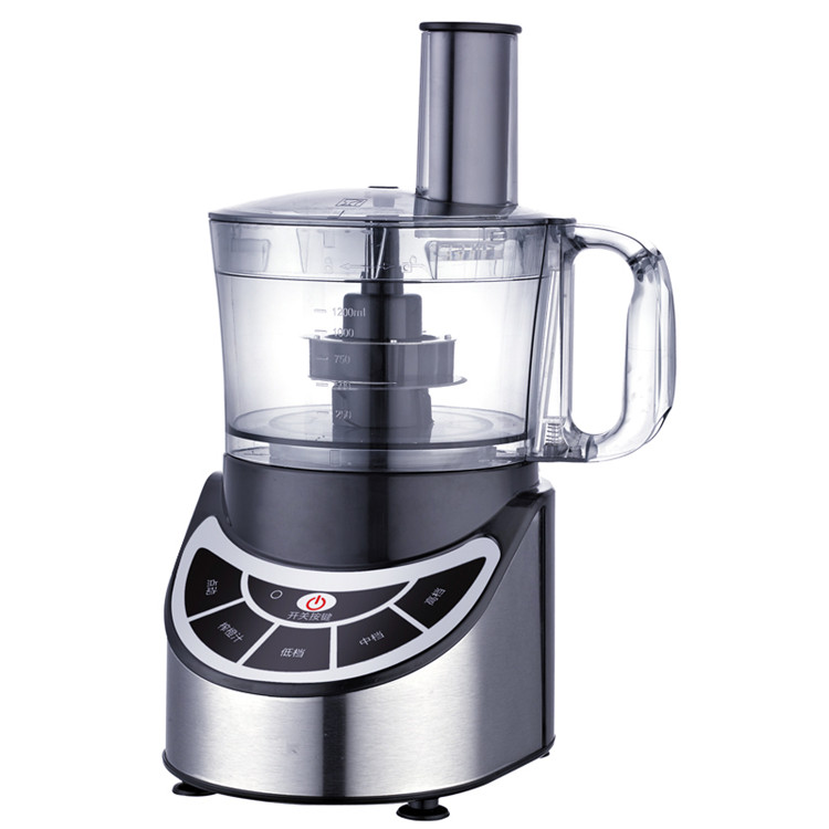Multi-function kitchen cooking machine commercial blender food mixer 1.2L home food processing machine fruit food processor glantop 2l smoothie blender fruit juice mixer juicer high performance pro commercial glthsg2029