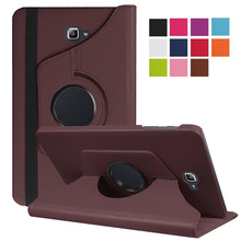 For Samsung Galaxy Tab A A6 10.1 2016 SM-T580 T580N T585 T585C Tablet Case 360 Degree Rotating Stand Leather Protective Cover cowboy pattern case for samsung galaxy tab a a6 10 1 2016 t580 t585 sm t580 t580n case cover funda tablet stand protective shell