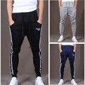 2015 новый на открытом воздухе грузовые широкий брюки мужские спортивные шаровары спортивные бегунов мужчины причинно хип-хоп тонкий Fit тренировочные брюки для танцев спортивные