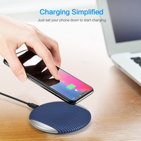 Qi Fast Wireless Charger Rapid Charging Stand for Samsung Galaxy S9 / S9 Plus For Iphone 8 Certified Cell Phone Accessories