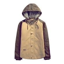 Куртка хлопок, мужчины зима тёплый пальто свободного покроя пиджаки — мягкий пуховик куртка шинель AW1368