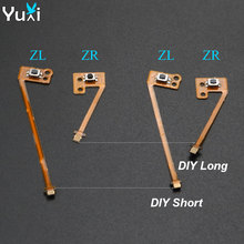 YuXi ZL ZR Button Ribbon Flex Cable replacement for Nintend Switch for Joy-Con Controller Repair Parts. цена 2017