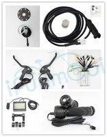 36 В 48 В 1000 Вт бесщеточный синусоида Ebike комплект контроллера Восстанавливающий обратный + ЖК дисплей и т. д. Для электрического велосипеда/ве