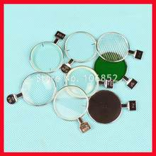 1pc lente oftálmica óptica lente de teste para lente de teste conjunto aro metal diâmetro 38mm