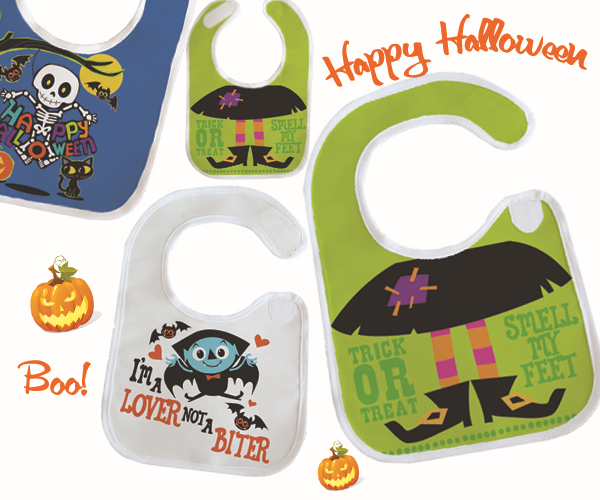 2015 halloween baby bibs machine washable festival giftherhis first halloween