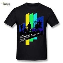 New Design Male Imagine Dragons Believer T Shirts DJ Music Fashion Streetwear Man T-Shirts