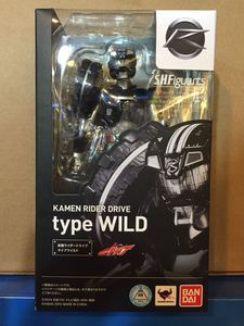 "Image 5 - 100% Original BANDAI Tamashii Nations S.H.Figuarts (SHF) Action Figure   Kamen Rider Drive Type Wild from ""Kamen Rider Drive"""