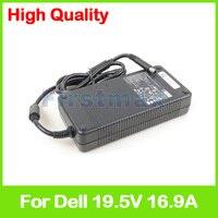 19.5 볼트 16.9A 노트북 AC 어댑터 충전기 델 에이리언웨어 M18x R1 R2 X51 0XM3C3 ADP-330AB B DA330PM111 XM3C3 Y90RR