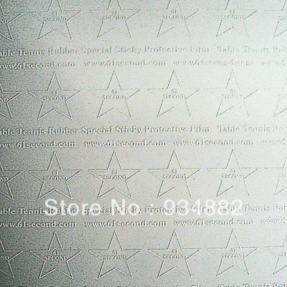 10 Pcs 61 secondes Tennis De Table (Ping-Pong) En Caoutchouc Collant  Spécial De Protection Film c67bbadb81f