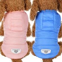 Одежда для собак зимняя водонепроницаемая пуховая куртка пальто для собаки теплое собачья одежда для маленьких собак чихуахуа французский бульдог щенок наряд 40 P1