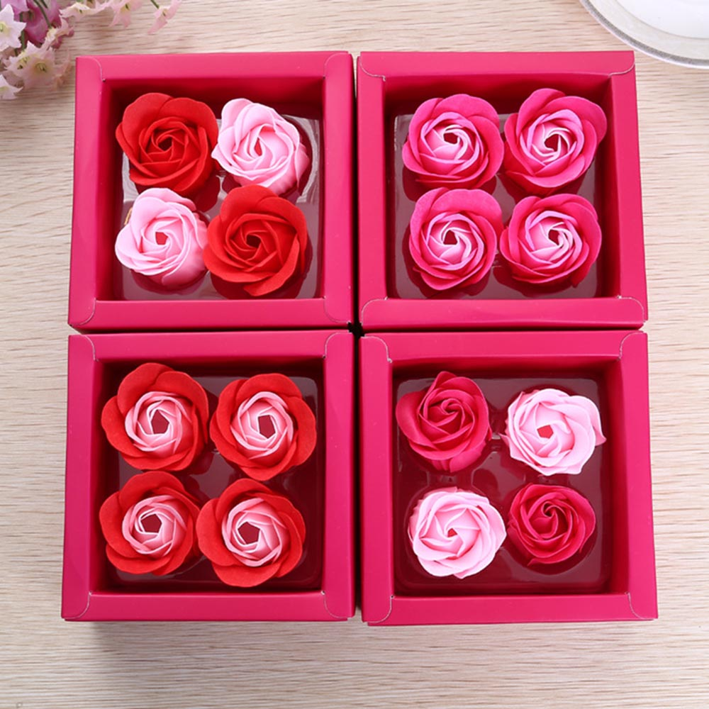 Wholesale 24pcs Creative Beautiful Rose Flower Soap wedding favors ...