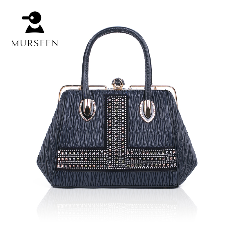 MURSEEN 2018 New Fashion Women PU Leather Handbags Famous Designer Brand High Quality Tote Bags Female Luxury Shoulder Bags