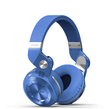 Foldable Wireless Bluetooth Headset with Microphone Supports FM Radio and SD Card