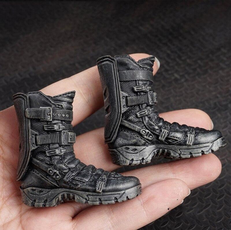1/6 масштаб черные боевые тактические шорты Ботинки модель игрушки AS006 для 12