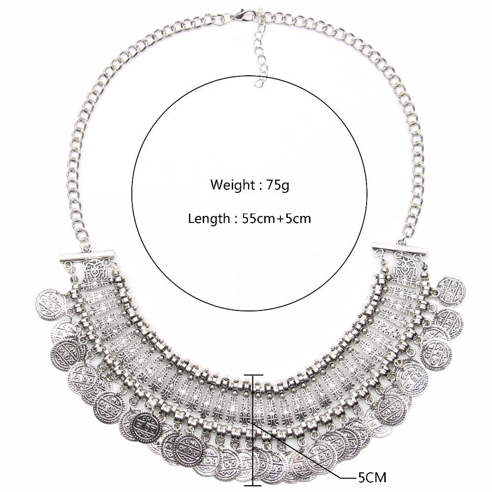 Ztech 18 Women Necklaces & Pendants Vintage Crystal Maxi Choker Statement Collier Femme Boho Big Fashion Jewellery Wholesale 18