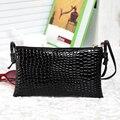 Alligator PU Leather Clutch 2016 summer for Crocodile women's handbag messenger bag small bag messenger bag bags