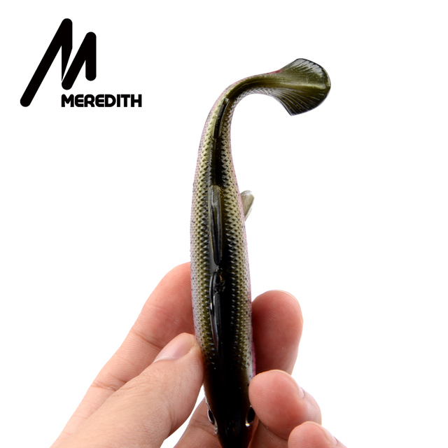 MEREDITH Trout – Kalajigi koukulla 12cm ja 15cm