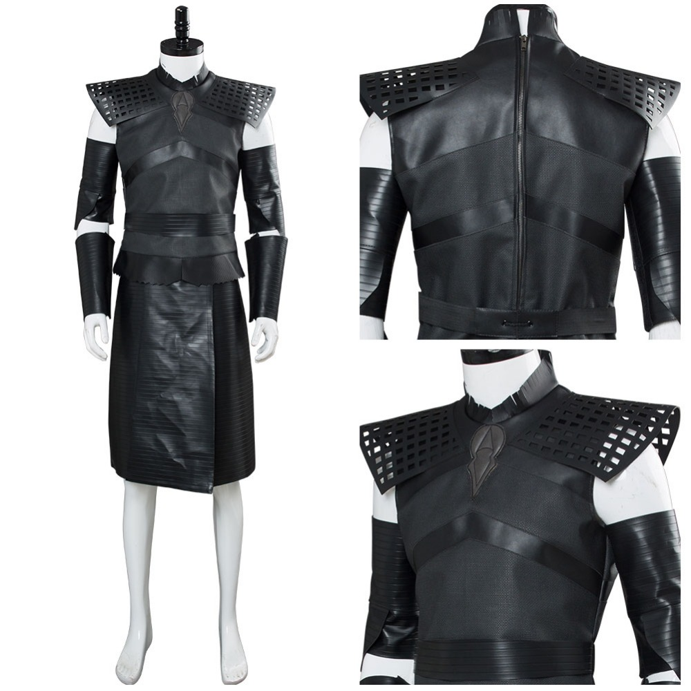Game of Thrones Season 8 Cosplay Costume Night's King Costume Outfit Full Suit Halloween Carnival Costume