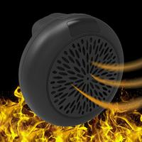 900W Pro Portable Mini Round Handy Heater Wall Outlet Electric Warm Air Fan Blower for Home Machine