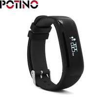 Potino P1 SmartBand Часы Приборы для измерения артериального давления смарт-браслет сердечного ритма Мониторы смарт-браслет Фитнес для Android IOS Телефон