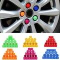 Новое Поступление 20 Шт. 19 мм Силиконовые Автомобилей Колесные Гайки Винт Покрытие Автомобиля Диски Внешний Болт Крышки