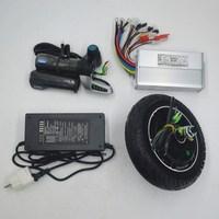 36 v 48 v 350 w kit de bicicleta elétrica 8 polegada hub motor kit para scooter elétrico ebike diy scooter elétrico conjunto|Motor p/ bicicleta elétrica| |  -