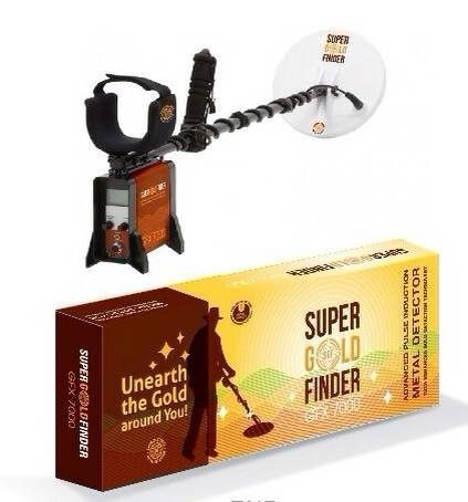 Underground Detector King GFX7000 Underground Metal Detector Highly Sensitive and Deep Detector Gold, Silver, Copper цена