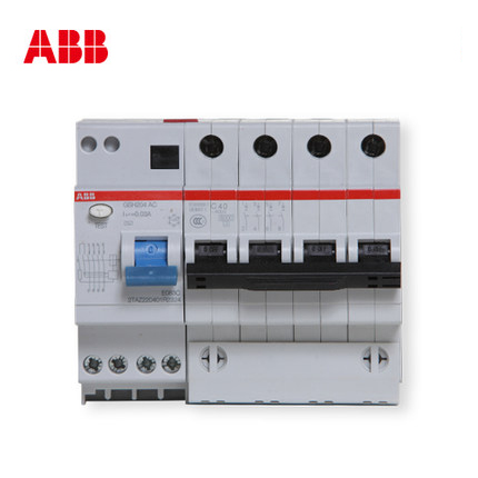 ABB leakage circuit breaker ABB switch leakage current  GSH204-C40