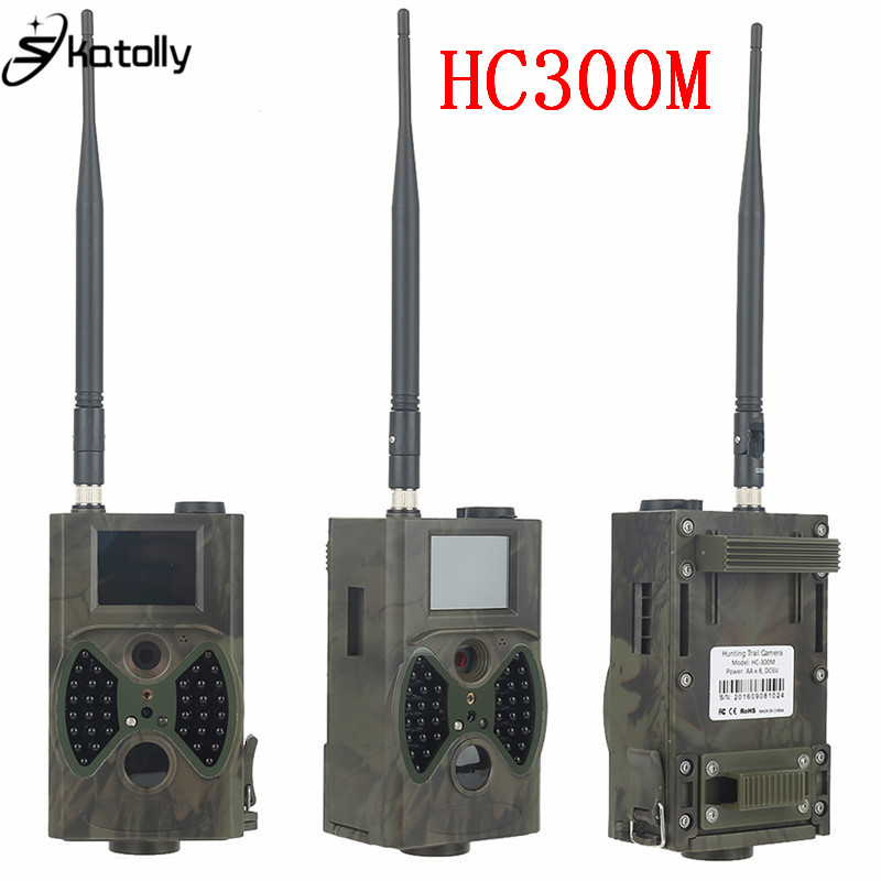 Skatolly HC300M Full HD 12MP 1080P Video Night Vision Huting Camera MMS GPRS Scouting Infrared Game Hunter Trail Camera skatolly 3pcs lot hc300m full hd 12mp 1080p video night vision huting camera mms gprs scouting infrared game hunter trail camera