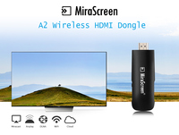 MiraScreen A2 Wireless HDMI Dongle 2 4GHz WiFi 1080P TV Stick Display Receiver DLNA Airplay Miracast