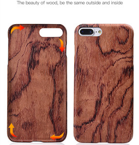 Image 4 - For Apple iPhone 6 6s Plus /7 /8 Plus SE2 2020 walnut Enony Real Wood Rosewood Wenge Apricot MAHOGANY Wooden Back Case Cover