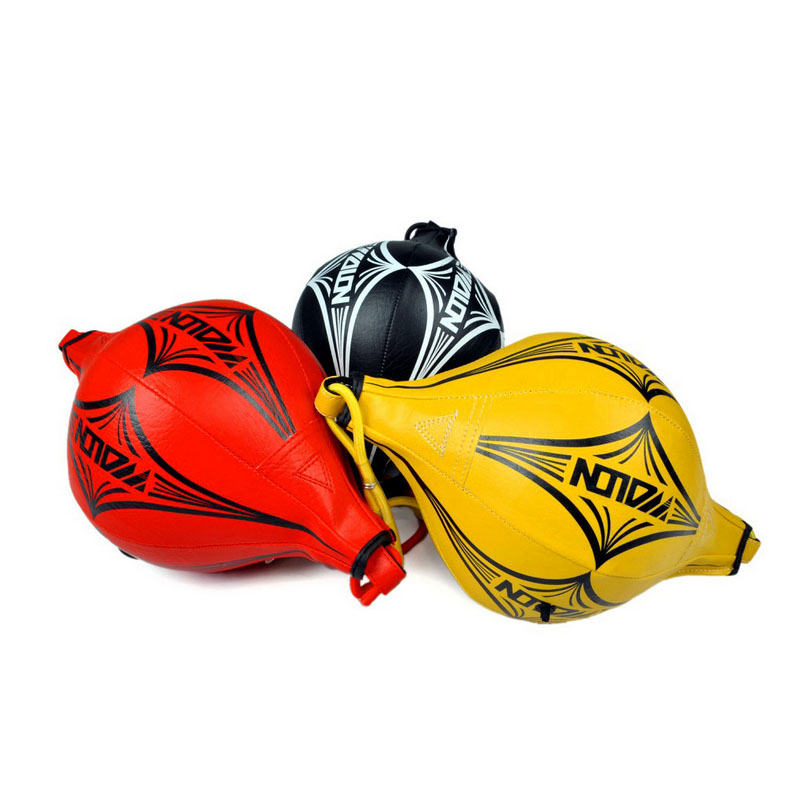 Nuevo Double End MMA Boxing Training Punching Bag Speedball Speed ​​Ball Rojo
