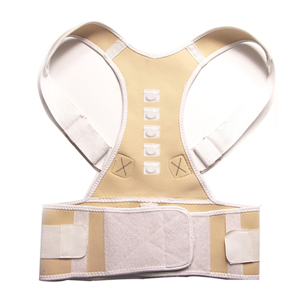 Adjustable Posture Belt to Pull Shoulder and Back for Correct Posture also Provides Central Back Support with Magnetic Contact  in Spine and Lumber Region 14