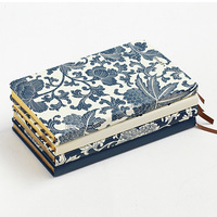 A5 Vintage Hardcover Notebook Lovely Flower Notepad For Student Gift Stationery