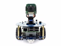 AlphaBot2 Robot Building Kit For Raspberry Pi 3 Model B No Pi Ultrasonic Sensor IR Remote